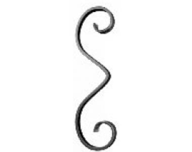 Кованый фигурный элемент-223