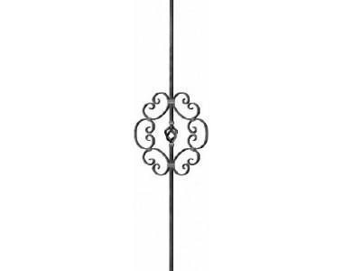 Кованый элемент балясина-455