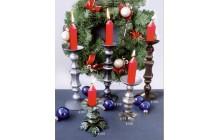 Кованый подсвечник на 1 свечу, настольный-e015