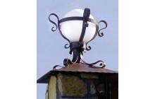 Кованый фонарь-c017-1