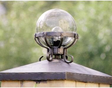 Кованый фонарь-c017-2
